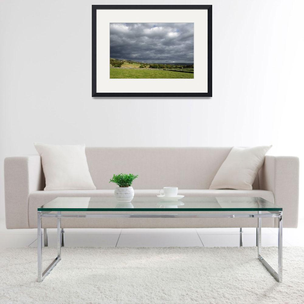 """""""Storm Clouds, East of Monsal Head (34893-RDA)&quot  (2012) by rodjohnson"""