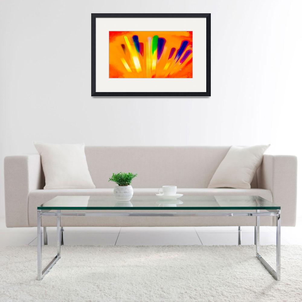 """""""Color Sweep Art 20&quot  (2016) by positivebusinessdesigns"""