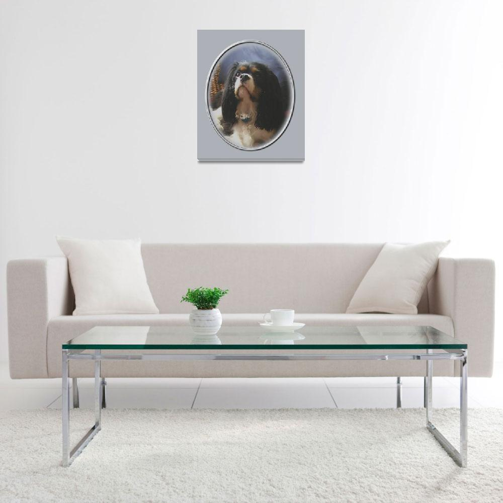 """""""Lily, Cavalier King Charles Spaniel&quot  by swargo"""