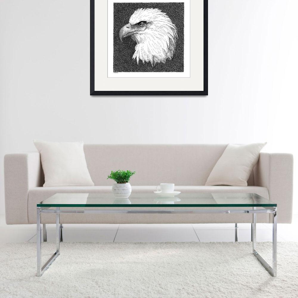 """Bald Eagle""  (2012) by scottwoyak"