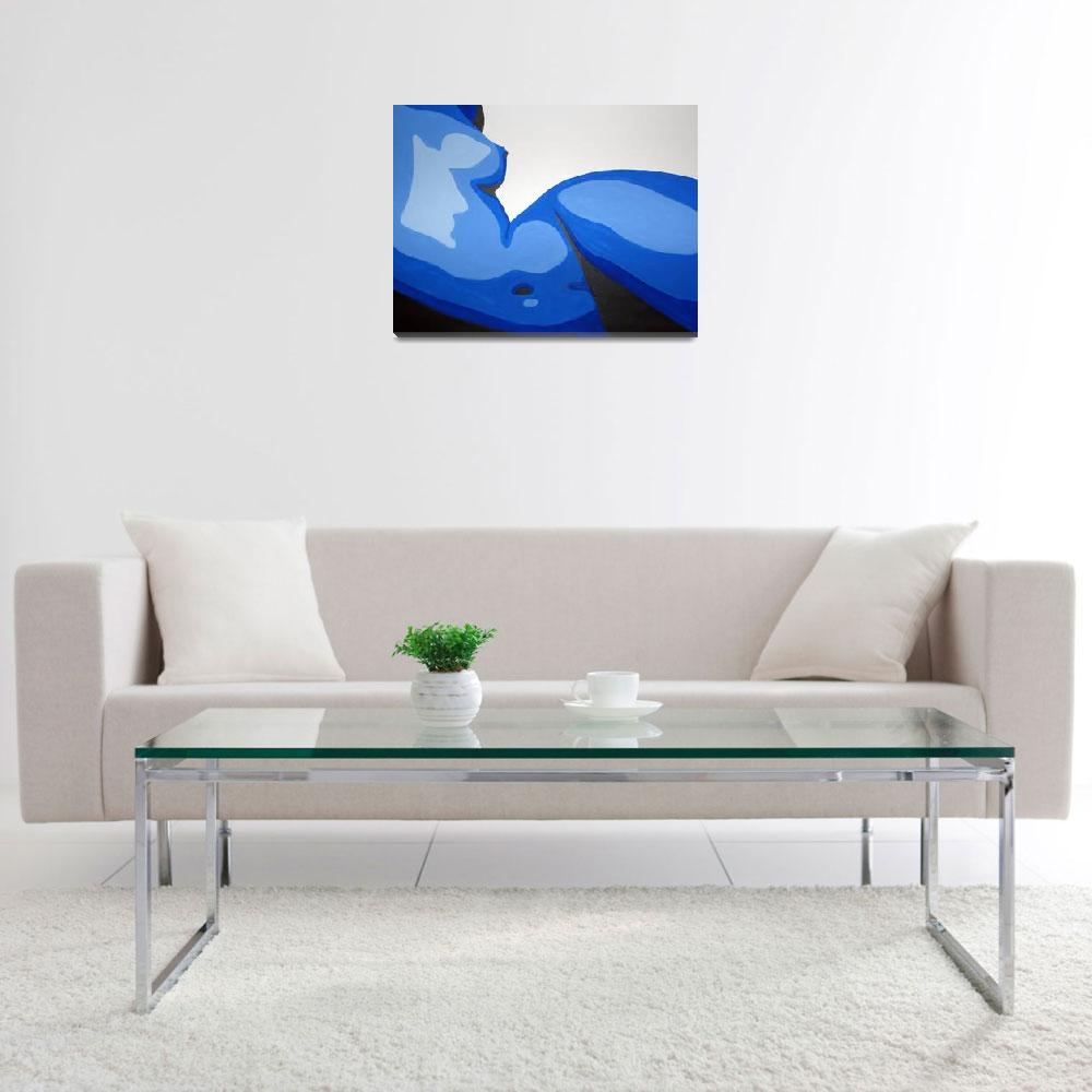 """""""Blue""""  (2012) by MichaelRingwalt"""
