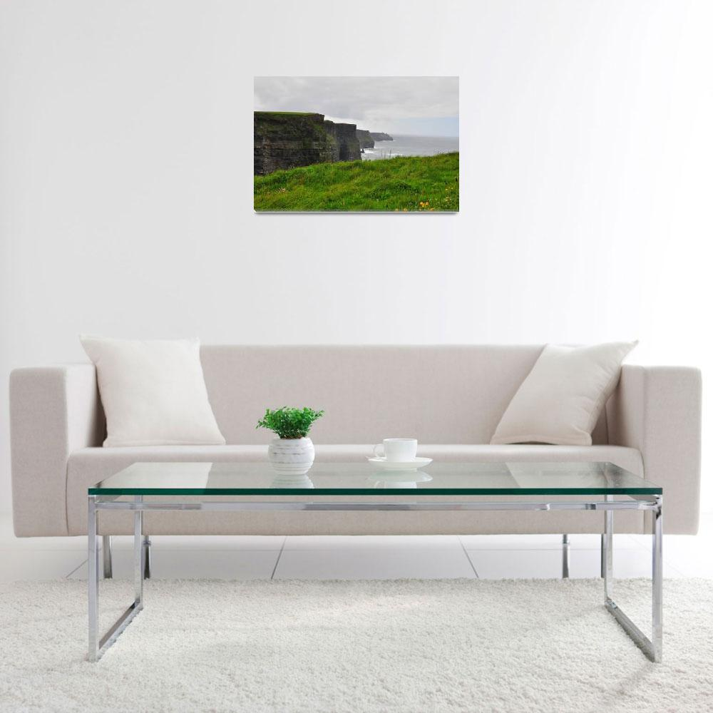 """""""The Cliffs of Moher&quot  (2011) by RTMacGowan"""