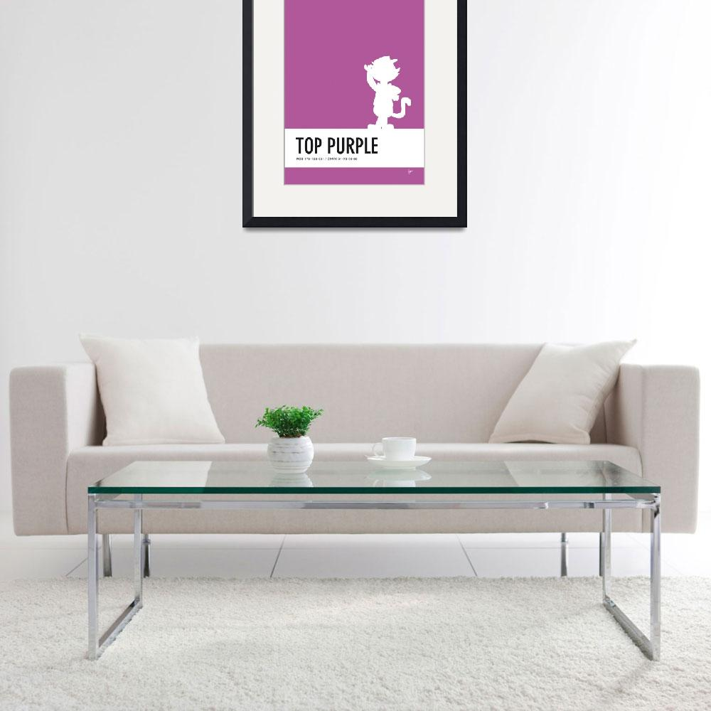 """""""No11 My Minimal Color Code poster Top Cat&quot  by Chungkong"""