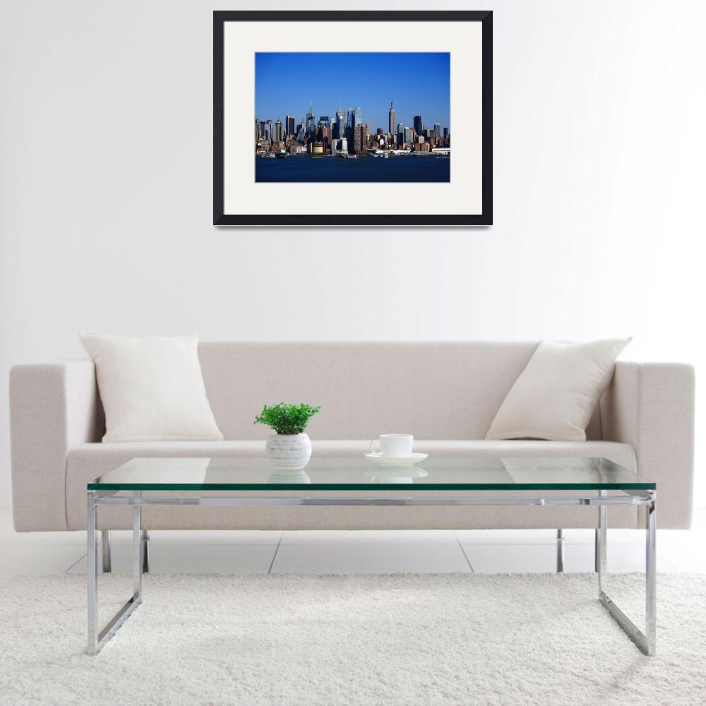 """New York City Skyline 2012&quot  (2012) by Ffooter"