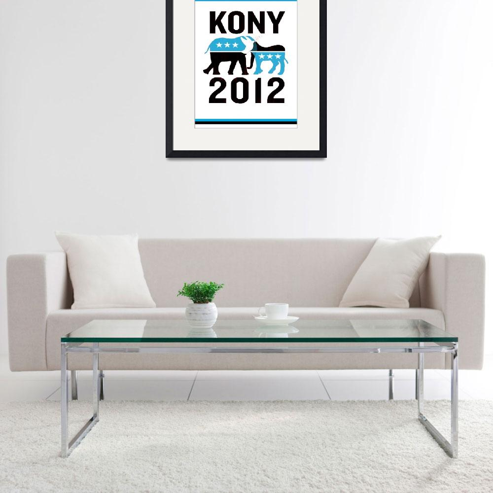 """""""Kony 2012&quot  by KonyPosters"""