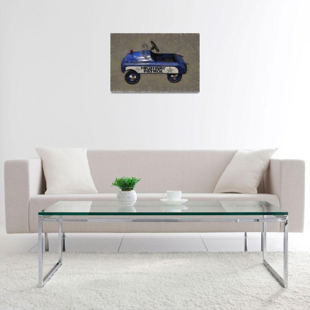 """Antique Pedal Car V""  (2012) by Michelle1991"
