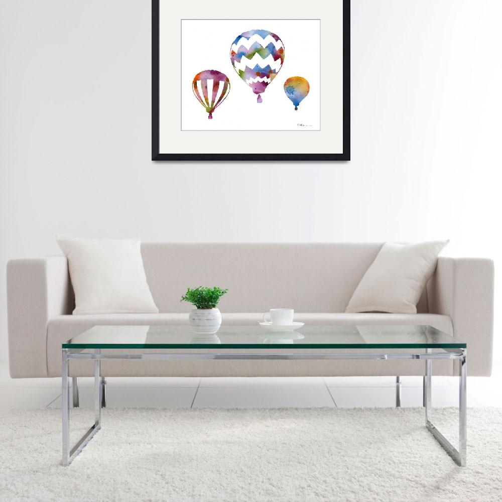 """""""Balloons&quot  (2015) by k9artgallery"""