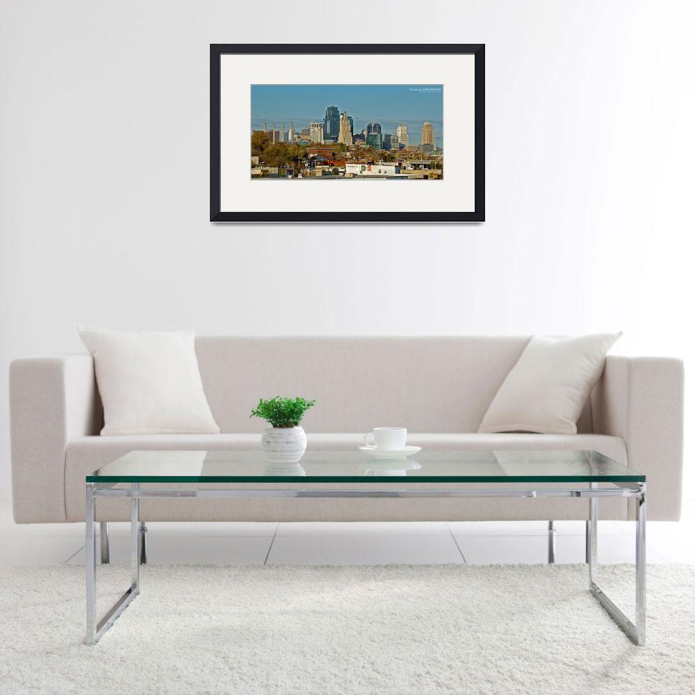 """Kansas City Skyline, 9 Nov 2008&quot  by photographybyROEVER"