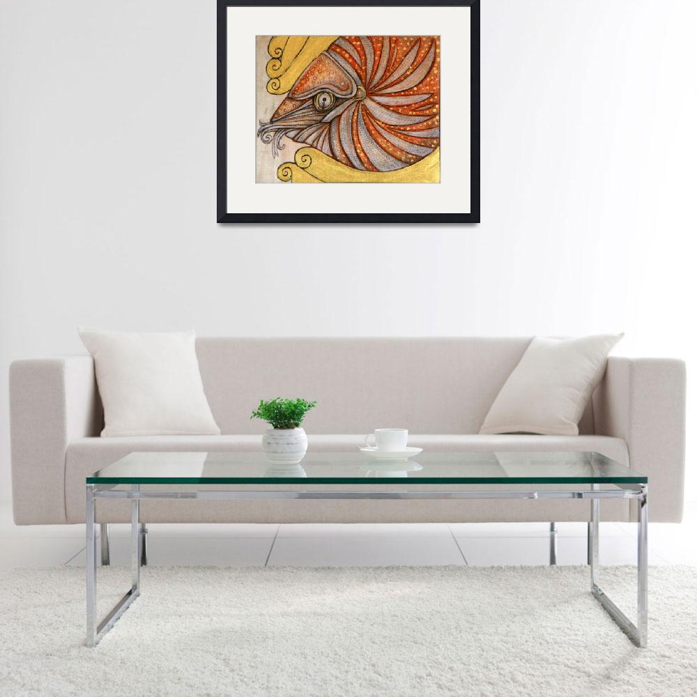 """The Chambered Nautilus&quot  (2012) by LynnetteShelley"