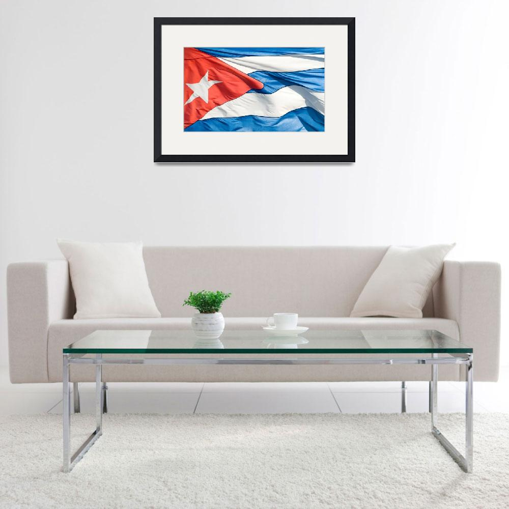 """The Cuban flag&quot  (2007) by photos"
