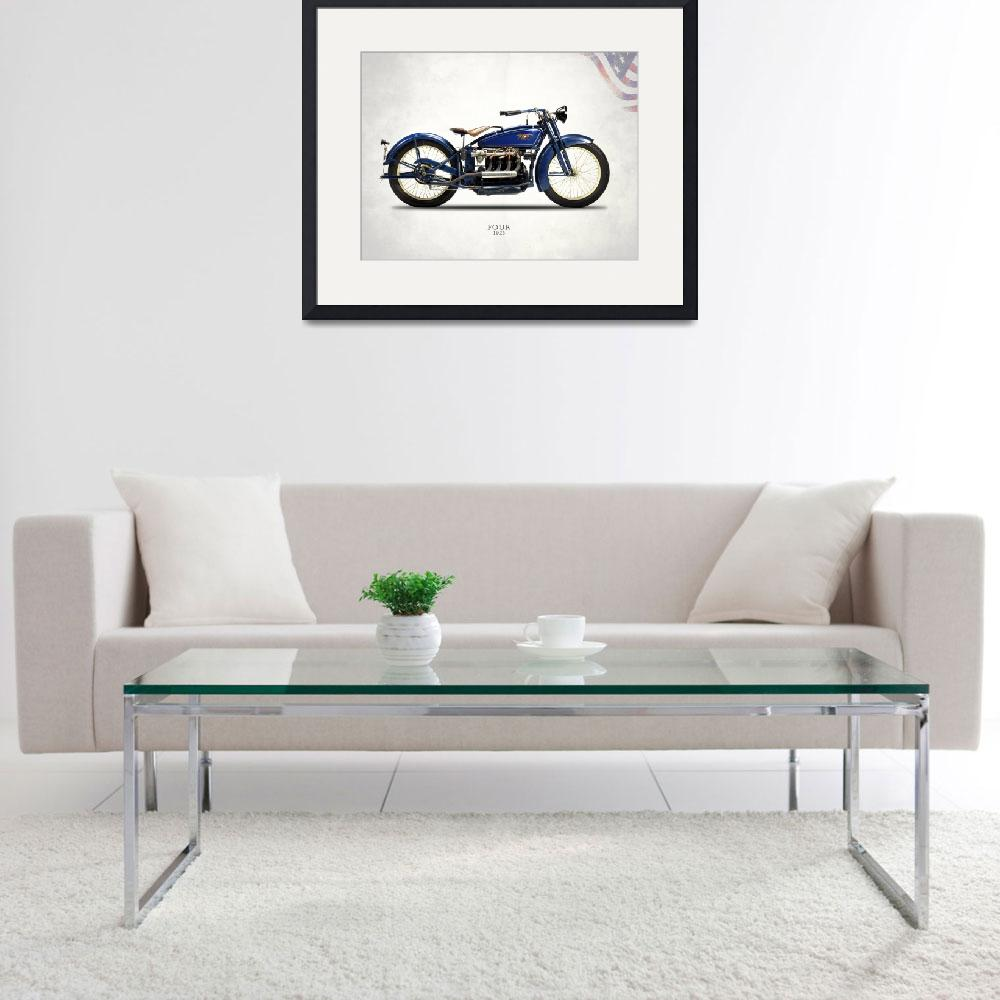 """""""The 1925 Ace Four Motorcycle""""  by mark-rogan"""