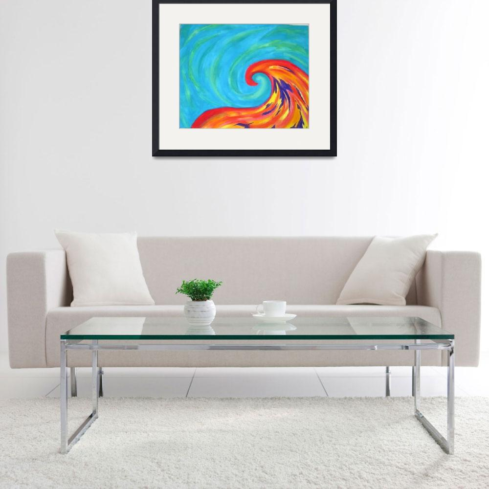 """""""Oceans wave&quot  (2009) by KaitlynStout"""