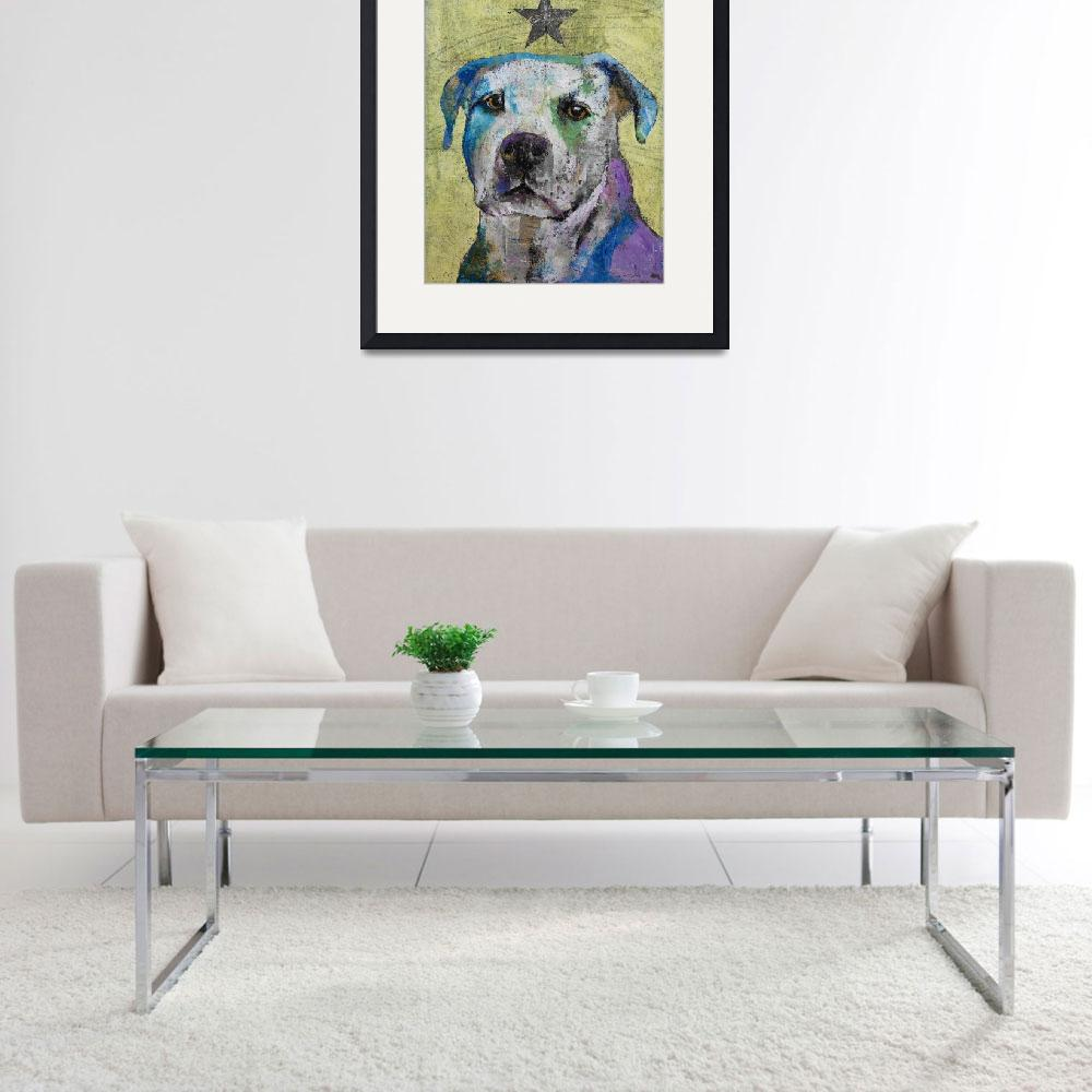 """""""Pit Bull Terrier&quot  by creese"""