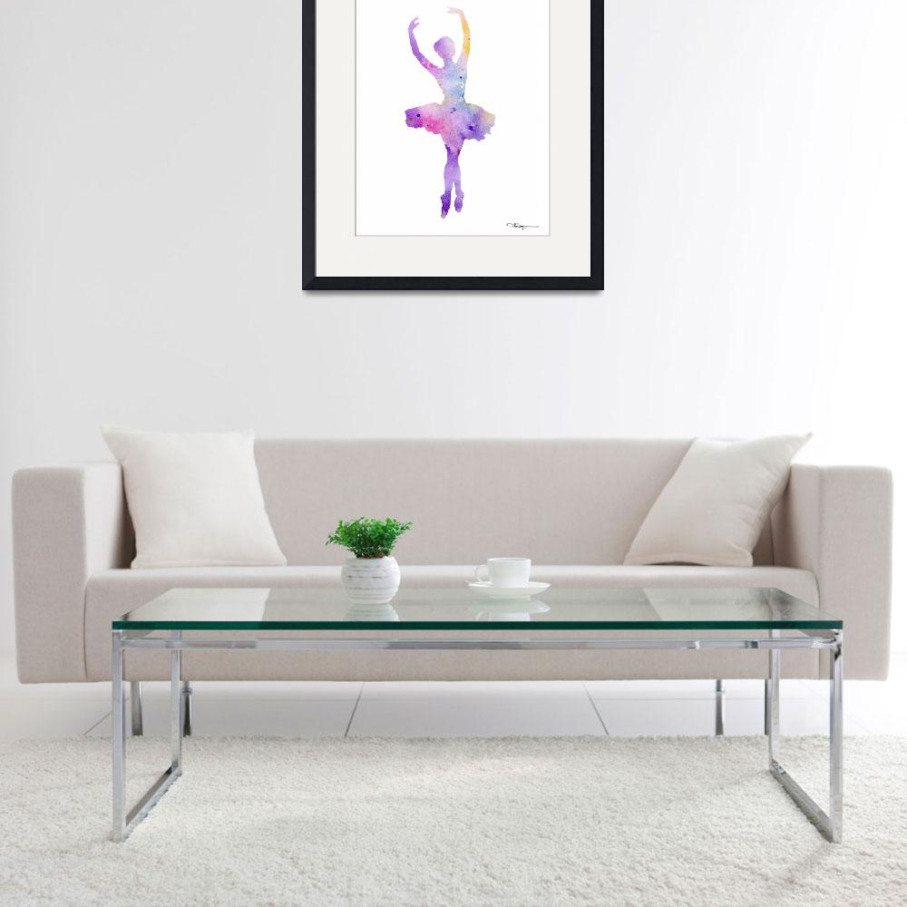 """Ballet Dancer&quot  (2015) by k9artgallery"