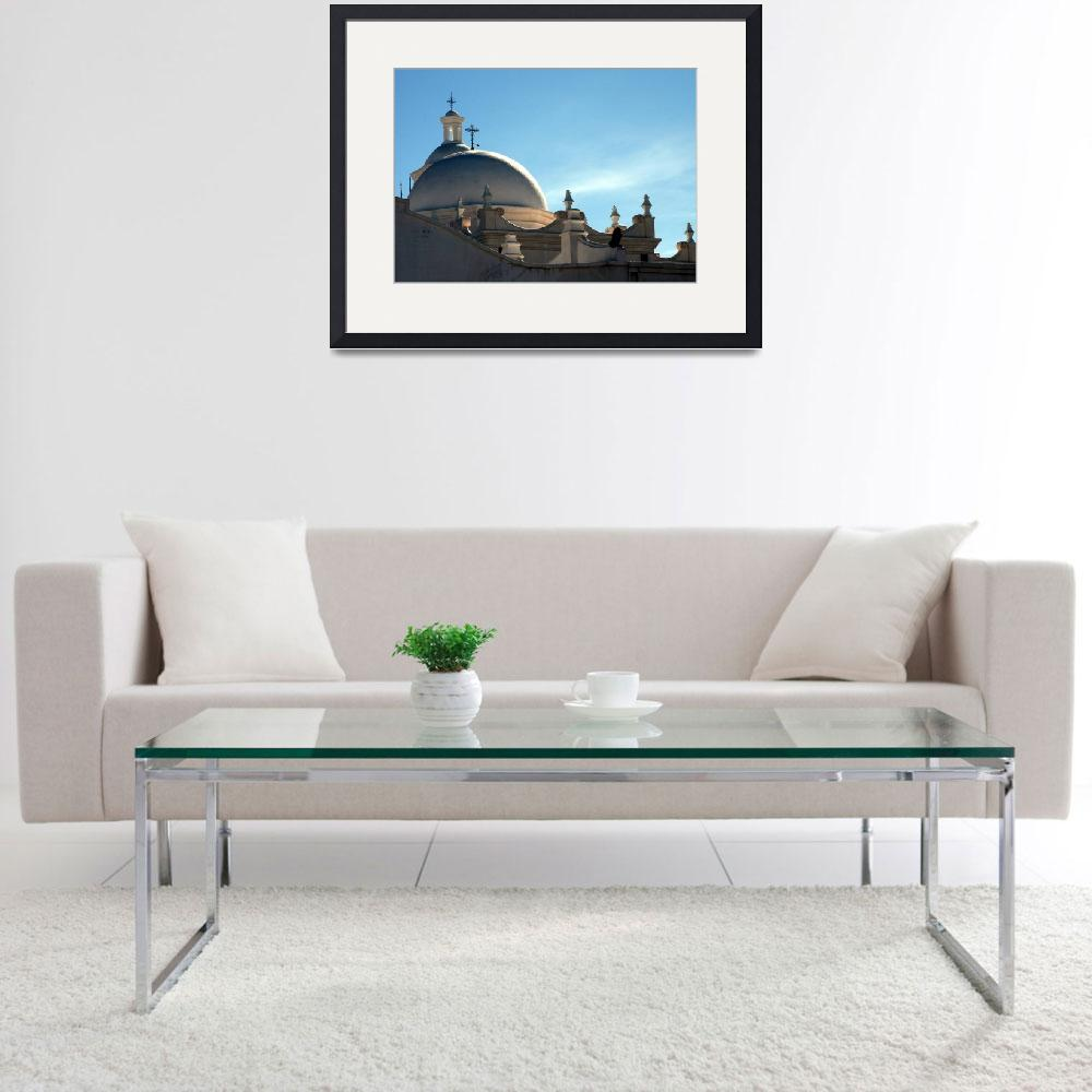 """""""The San Xavier Del Bac Mission""""  by LPacek"""