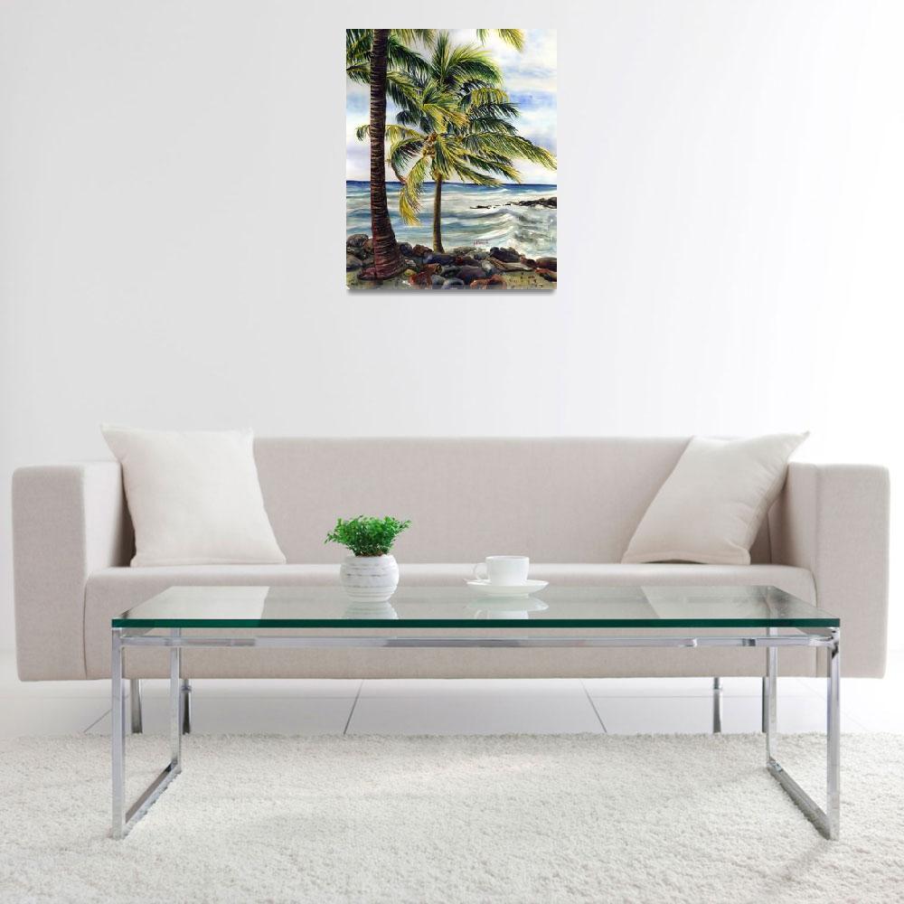 """Island Breeze""  by JennyFloravita"