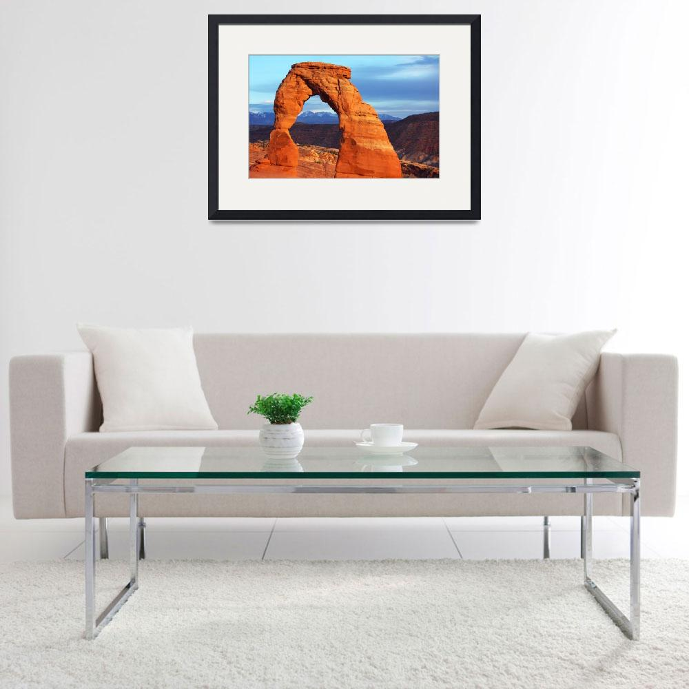 """""""The Delicate Arch by Laurie Larson&quot  (2013) by laurielarson"""