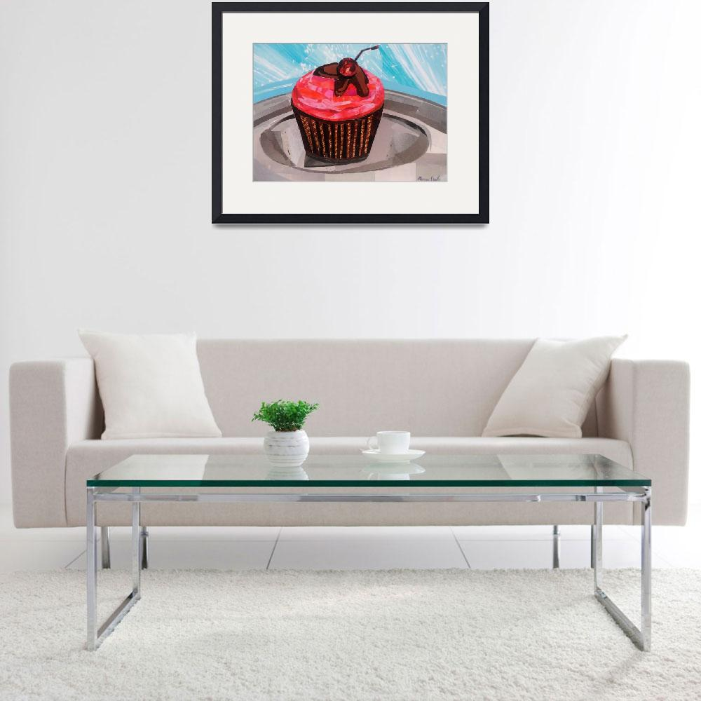 """""""Cupcake Time&quot  (2018) by megancoyle"""