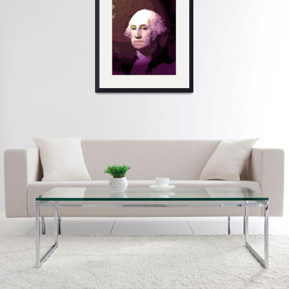 """""""George Washington&quot  (2008) by TrayMead"""