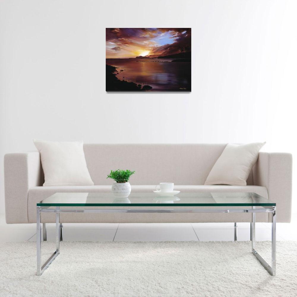 """Sunset Of Hawaii Kai""  by DesignPics"