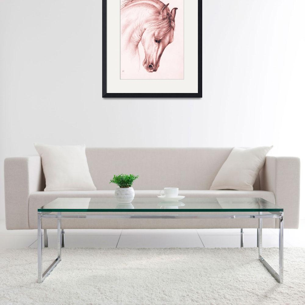 """""""Classic Andalusian Horse&quot  (2014) by artdeep"""