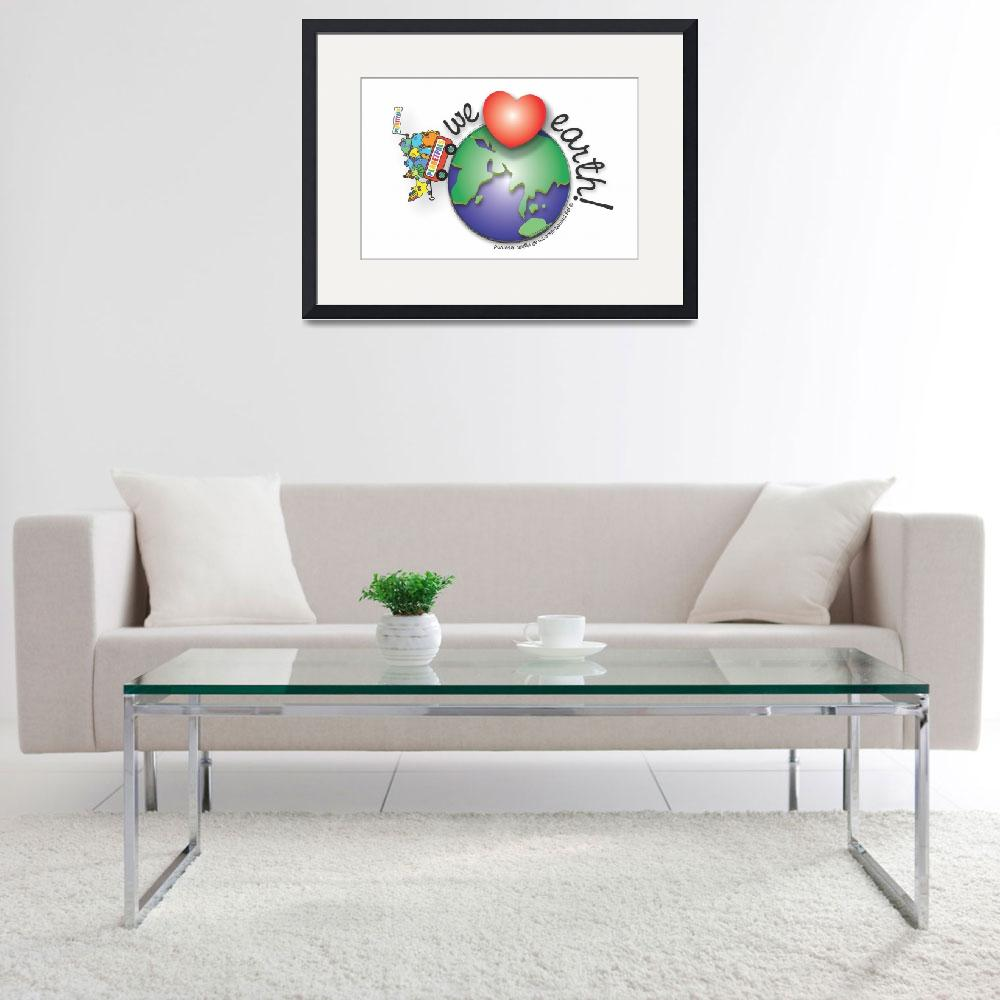 """Planetpals Love Earth&quot  (1998) by JudithGorgoneDesigns"