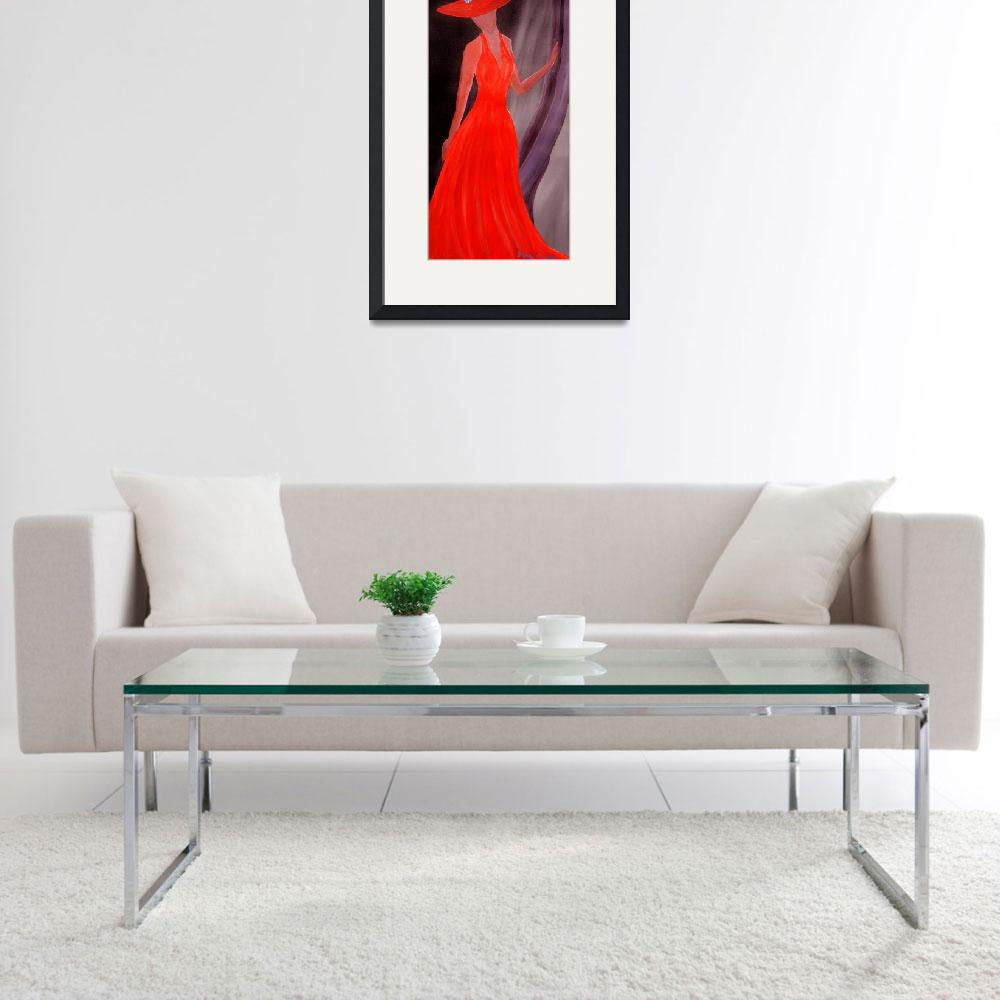 """""""The Lady in Red&quot  (2006) by irenetison"""