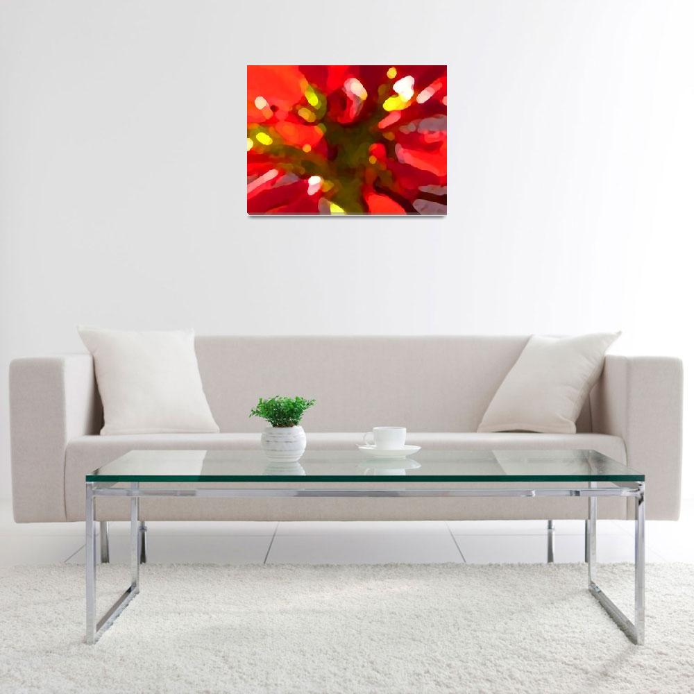 """""""Poinsettiia&quot  (2009) by AmyVangsgard"""