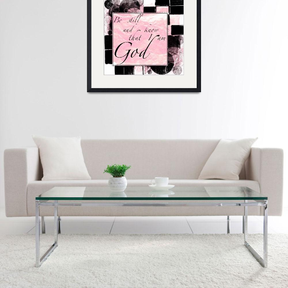 """""""be still color block bw pink&quot  by lizmix"""