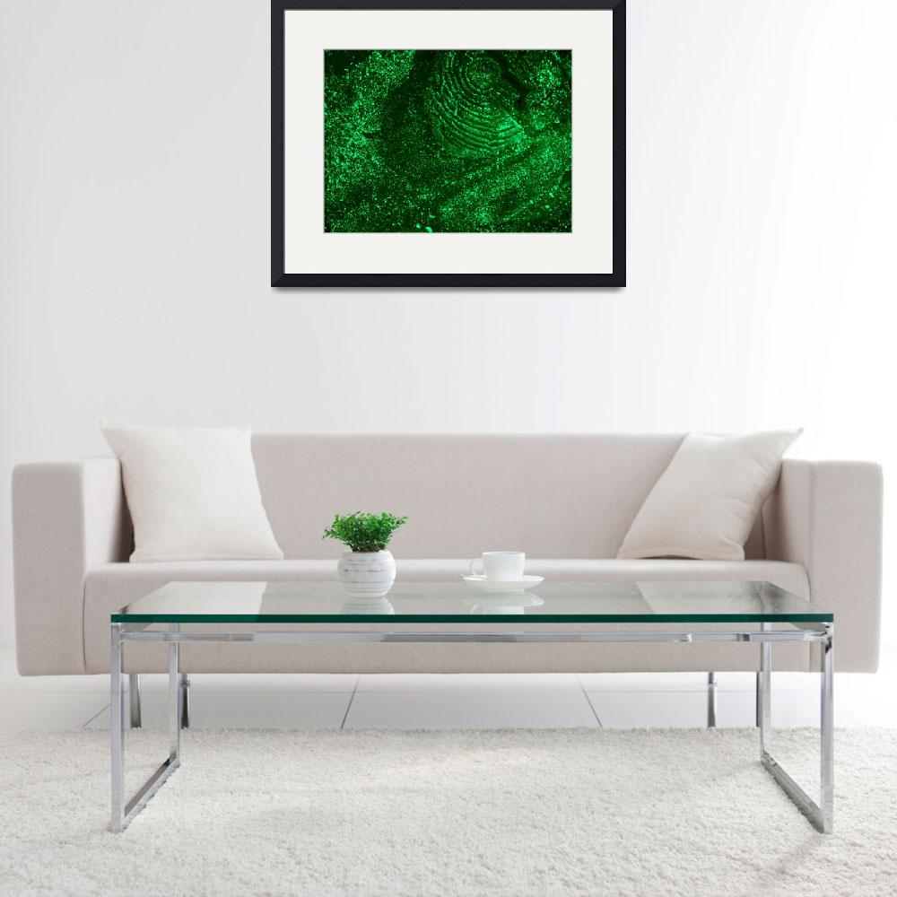 """""""Green Solar Abstract&quot  by abstractnataron"""