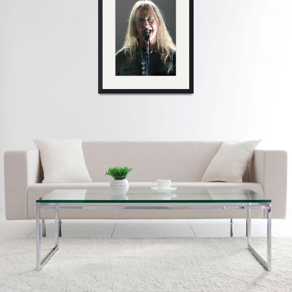 """""""Jerry Cantrell of Alice in Chains""""  (2011) by robvena"""