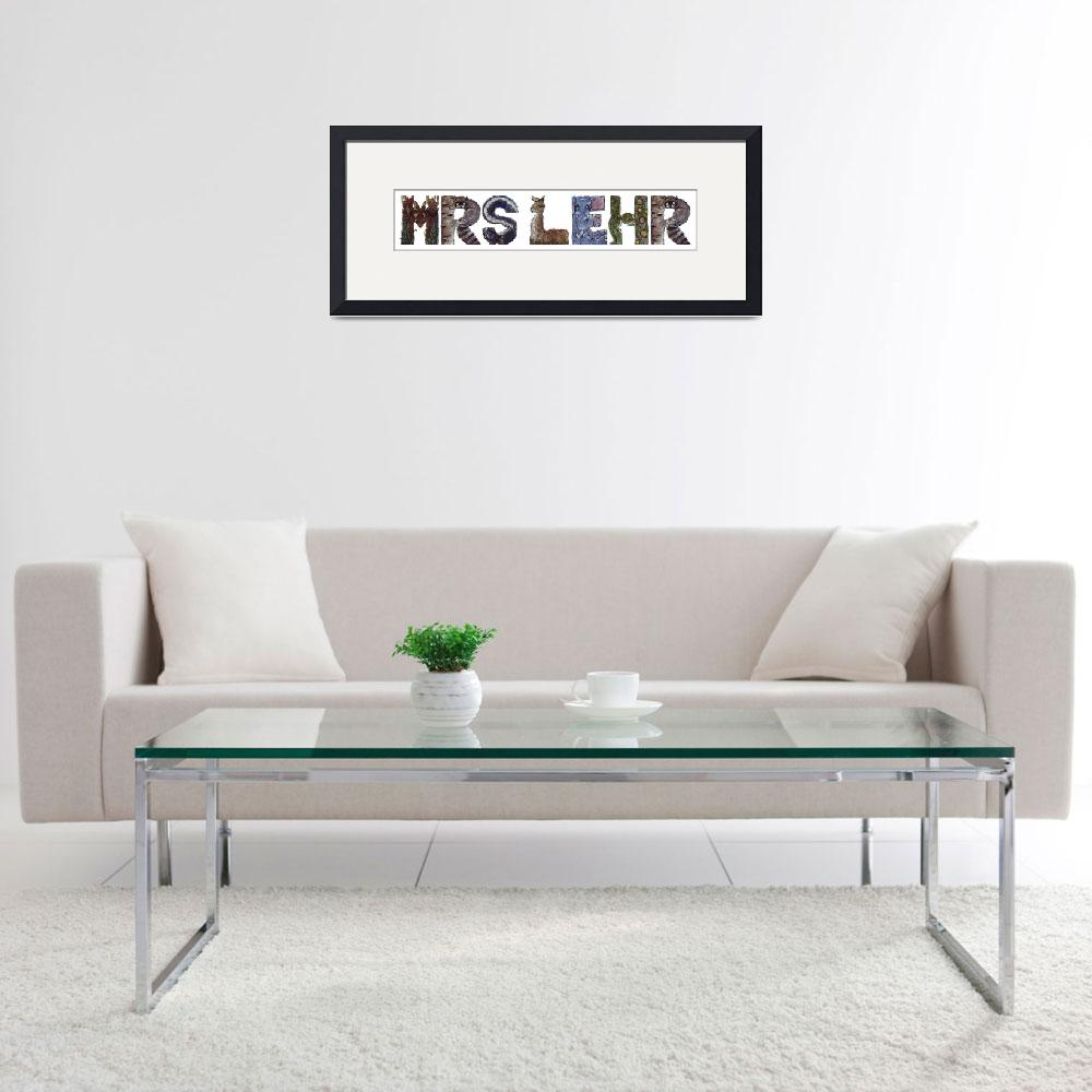 """""""Mrs Lehr&quot  by animalsoup"""