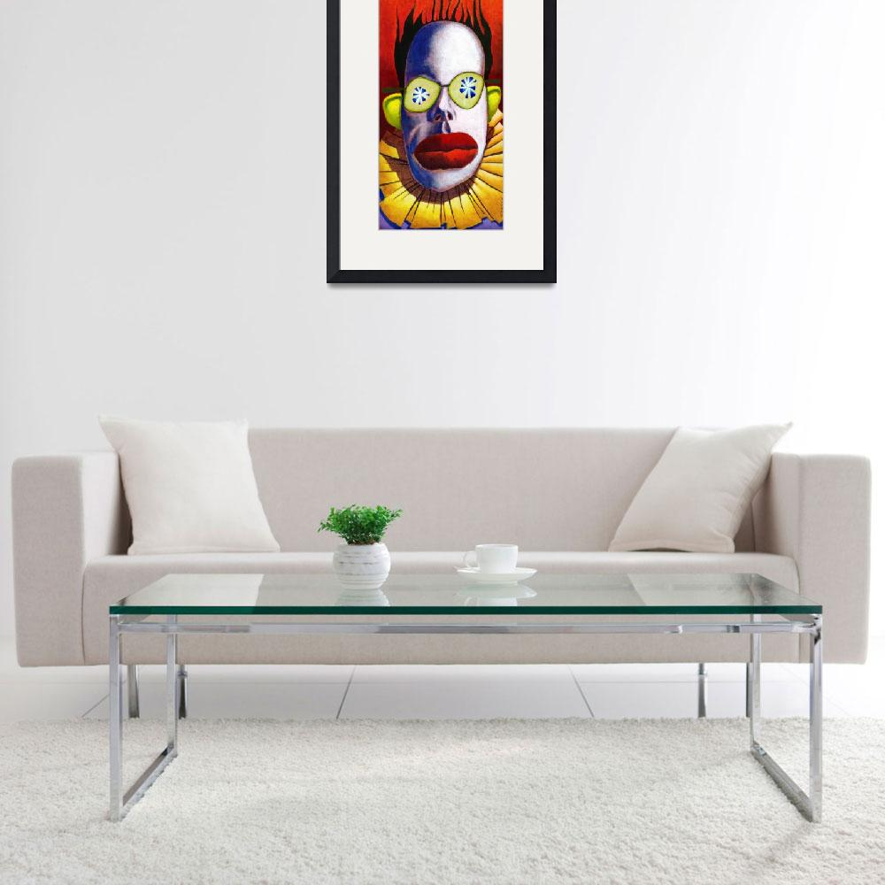 """""""Cucumber Clown""""  by MikeCressy"""