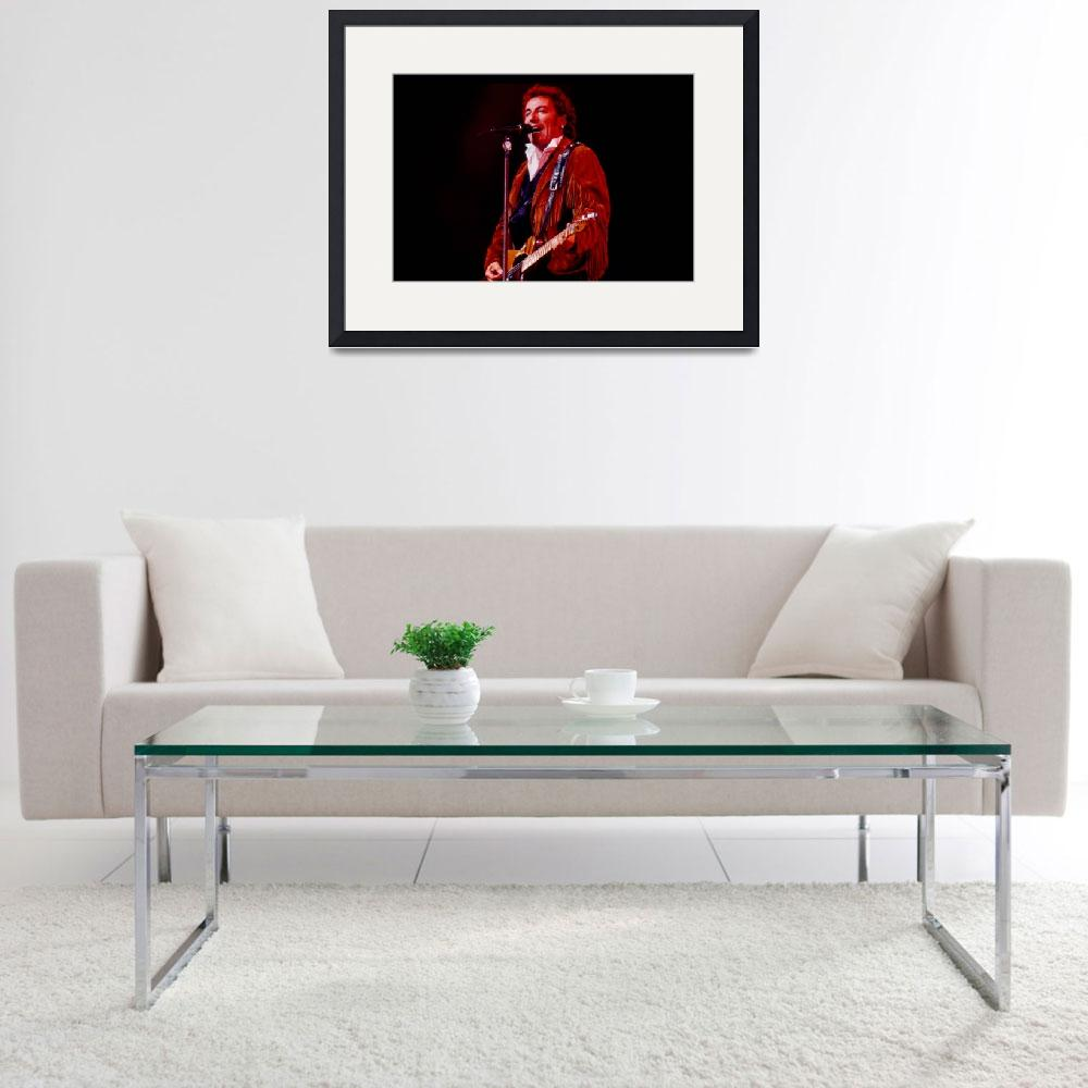"""""""Bruce Springsteen&quot  by classicrockphotos"""