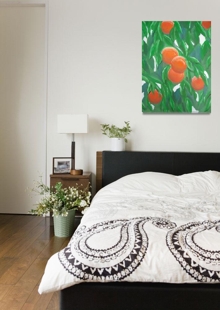 """""""Orange Tree Study 003""""  (2009) by szilverwolf"""