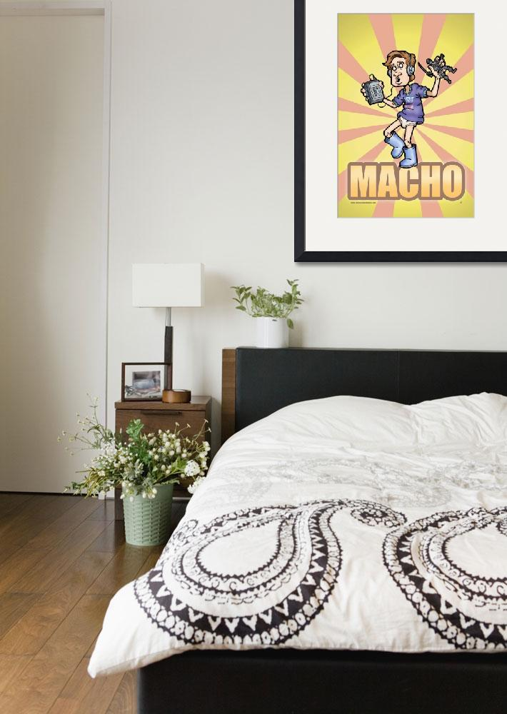 """""""MACHO&quot  (2008) by O-Abnormal"""
