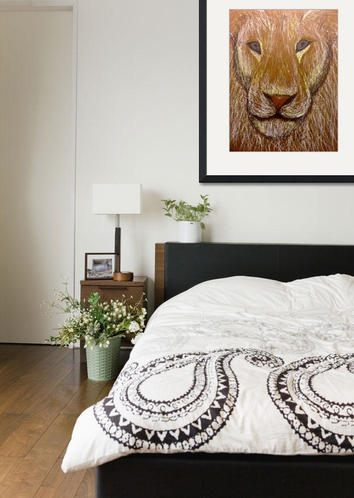 """""""Lion""""  (2015) by NicolePorter"""