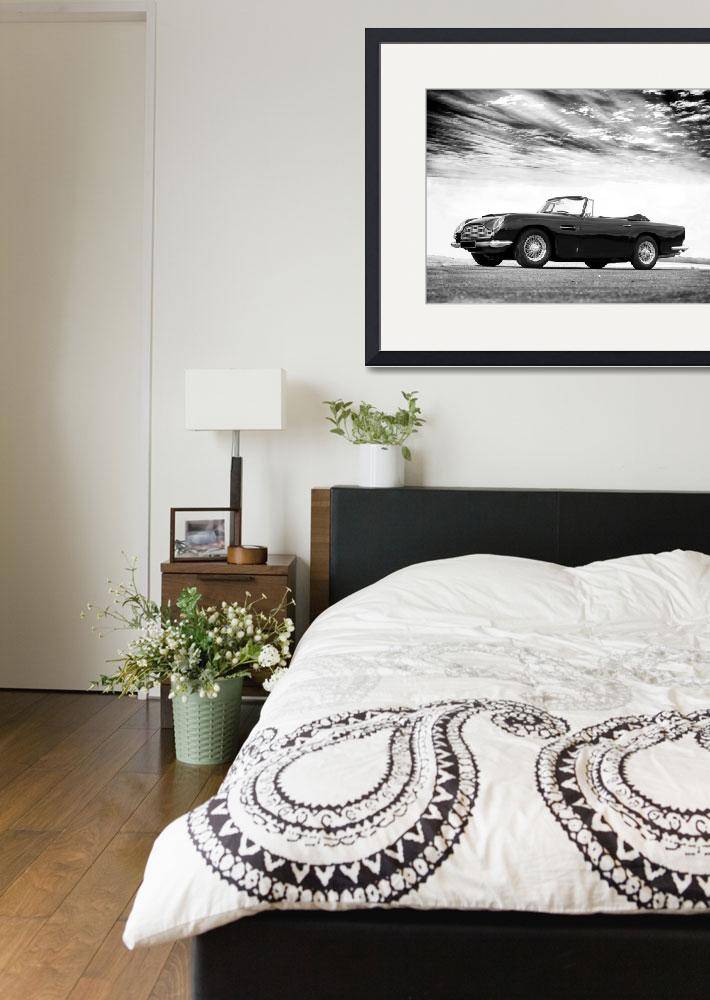 """""""The 1964 DB5&quot  (2013) by mark-rogan"""