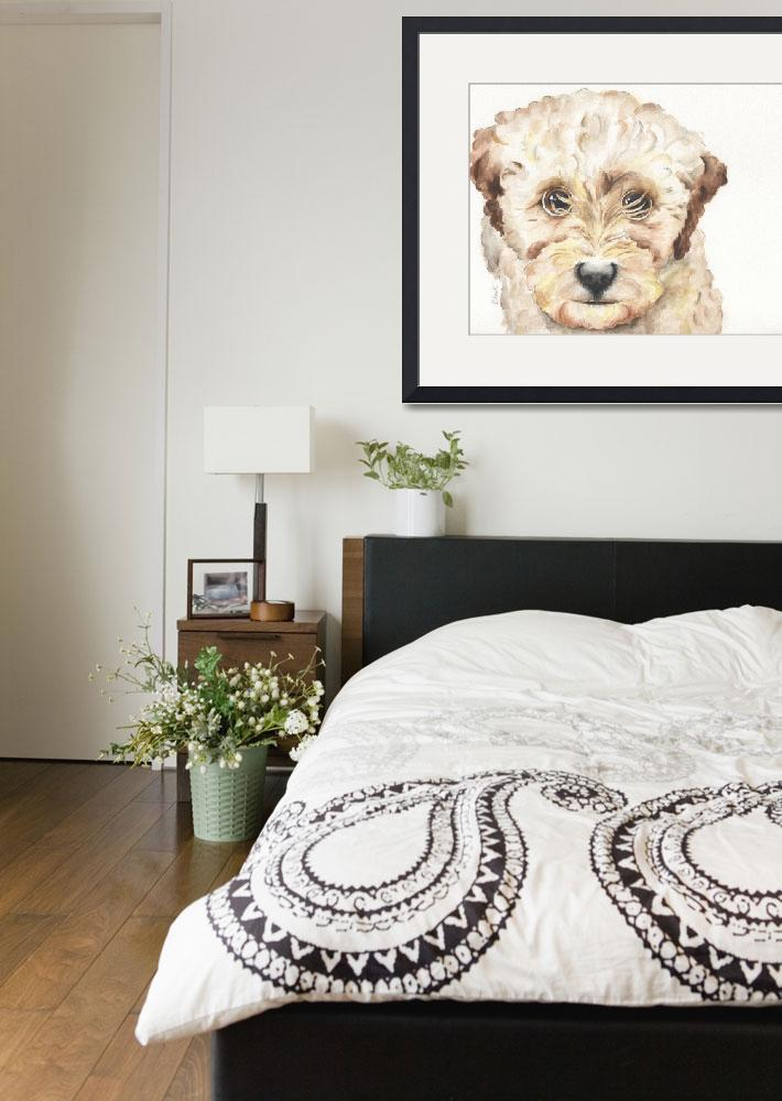 """TP Trailing Toddler Labradoodle Nala 1200""  (2014) by Designomel"