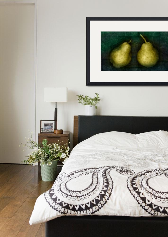 """""""Pears&quot  (2009) by cattanphoto"""