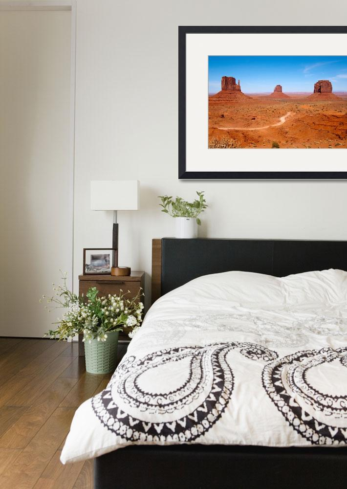 """""""Monument Valley&quot  by ChrisHudson"""
