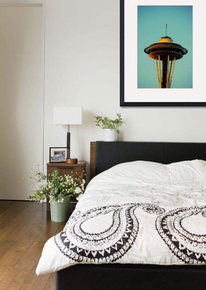 """""""Space Needle&quot  (2013) by SeattleSailor"""