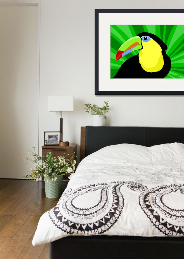 """""""Toucan&quot  by waterart"""