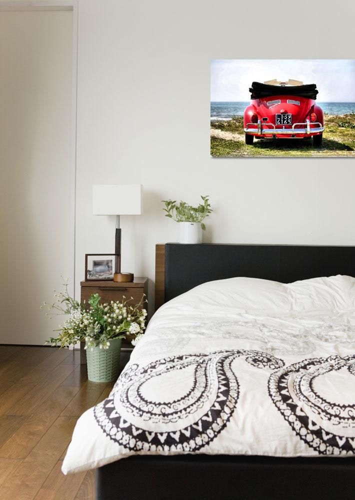 """""""VW on the beach - 1&quot  (2012) by getshaped"""