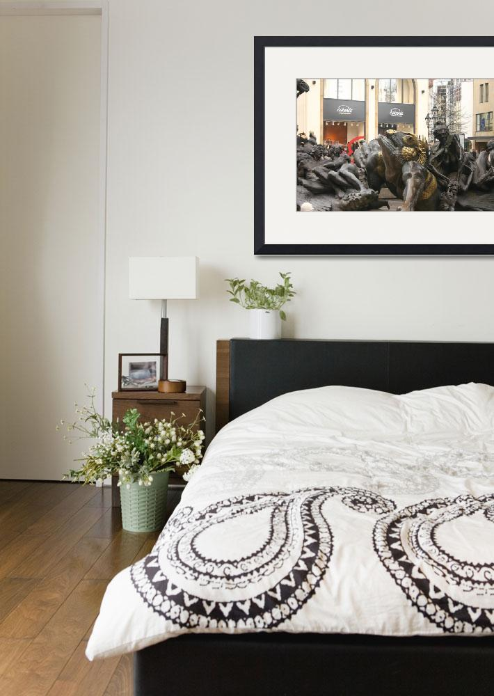 """Sculpture at Water Tower&quot  by fejesb"