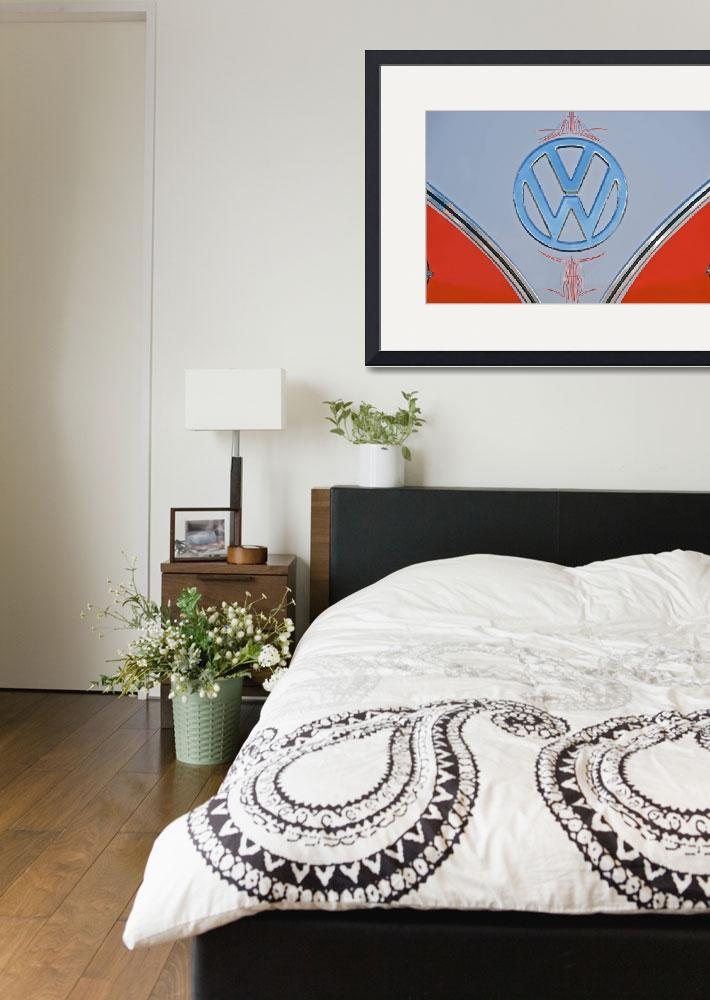 """""""Volkswagon Logo&quot  by FatKatPhotography"""