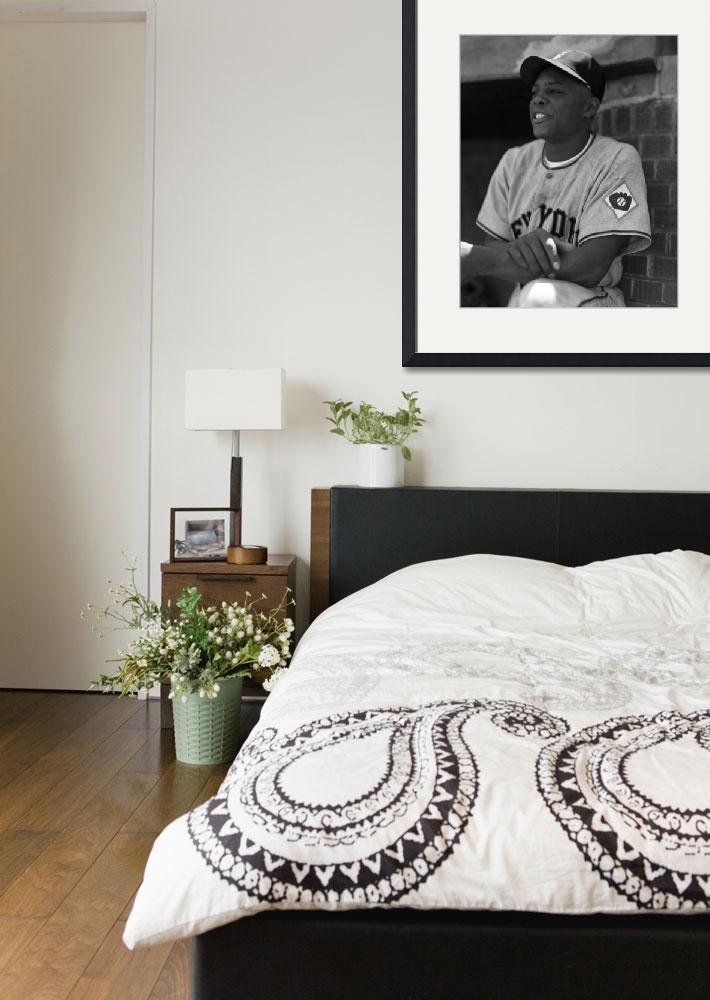 """""""Willie Mays""""  by RetroImagesArchive"""