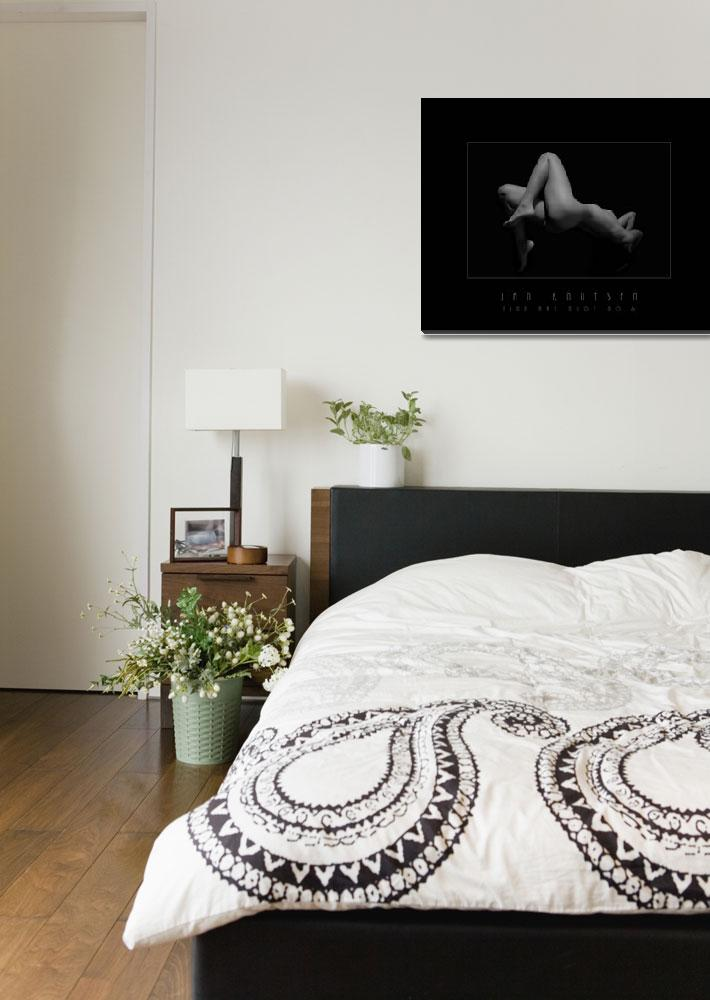 """FINE ART NUDE NO 6 Black & White&quot  (2007) by JanKnutsen"