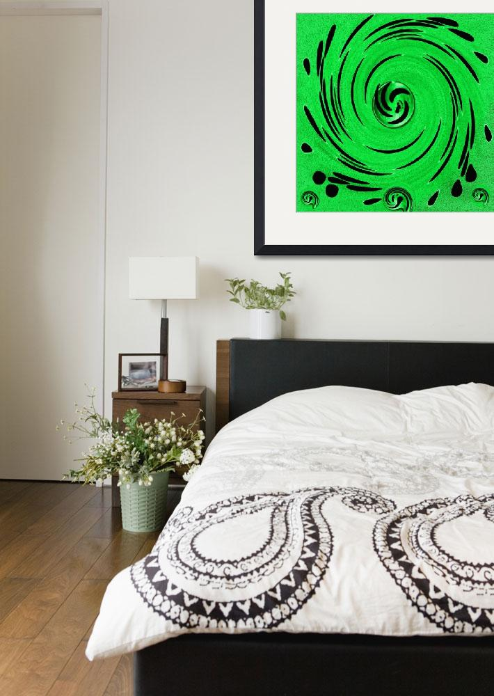 """""""Decorative In Greens&quot  (2014) by PepitaSelles"""