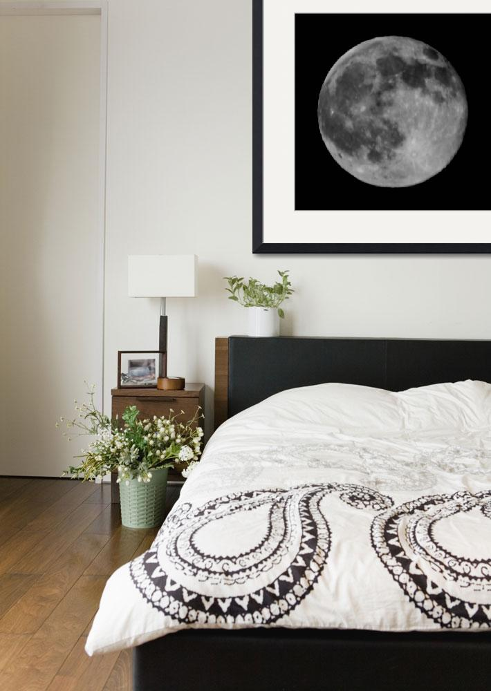 """""""BW Moon 5942""""  (2010) by rayjacque"""